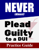 Never plead guilty